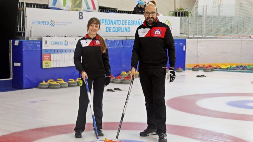 El Curling Club Hielo Jaca conquista el bronce  en el campeonato de España de Dobles Mixtos