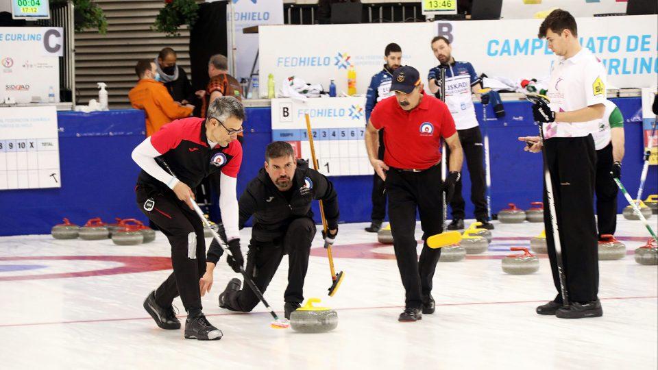 El Curling Club Hielo Jaca, a por las semifinales del Campeonato de España Masculino