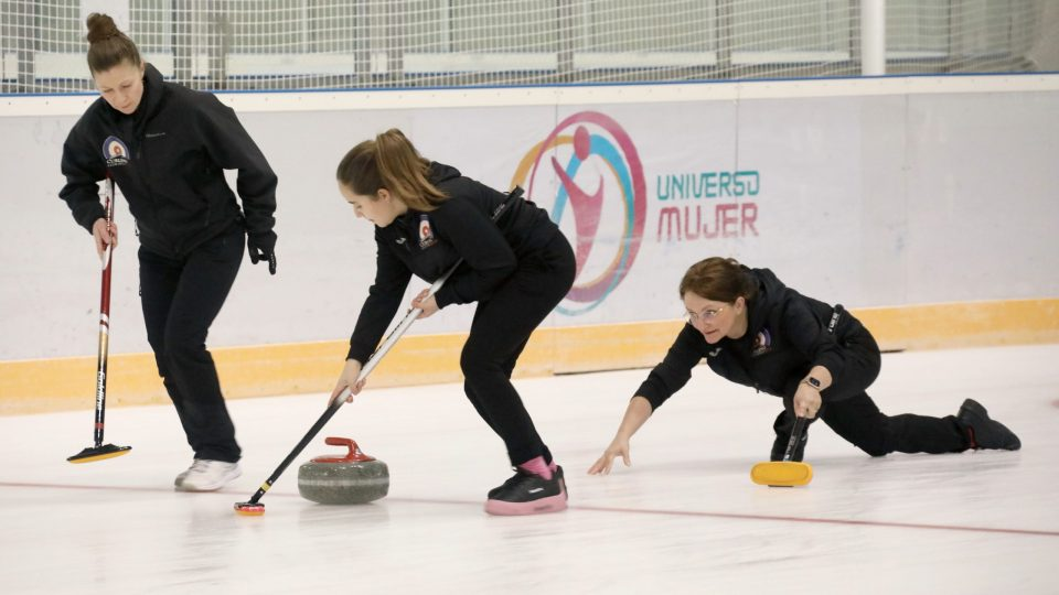 El Curling Club Hielo Jaca consigue una meritoria cuarta plaza  en el Campeonato de España Femenino de Curling