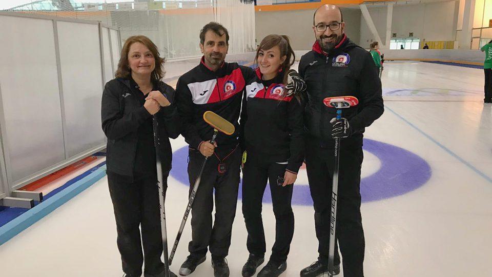 El Curling Club Hielo Jaca afronta el Campeonato de España Mixto