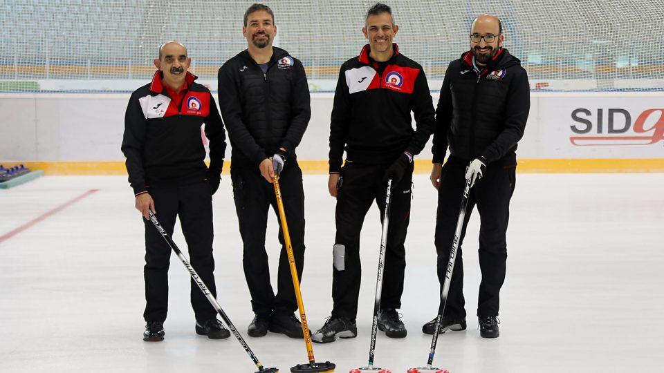Buen comienzo del Curling Club Hielo Jaca en el campeonato de España