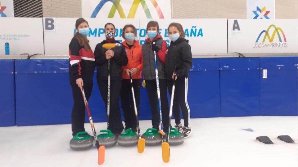 El Curling Club Hielo Jaca vuelve al Campeonato de España femenino