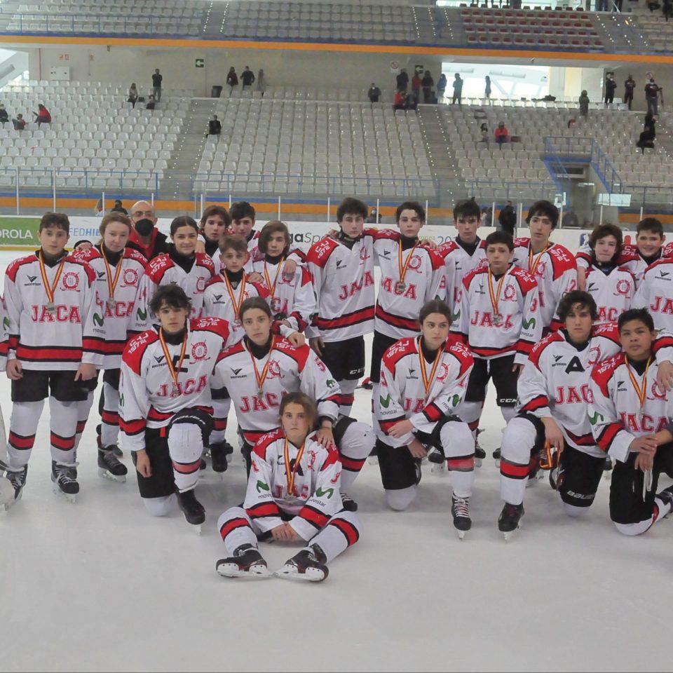 El equipo Sub 15, subcampeón de Liga